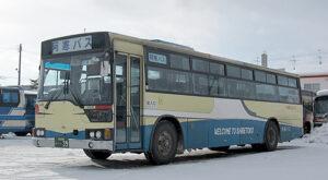 阿寒バス 丹頂カラー 三菱エアロスターM(元京浜急行 美幌配属・39)