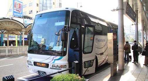 名鉄バスの名古屋~松山・八幡浜間夜行高速バス「名古屋~松山線」
