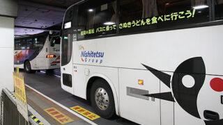 西鉄高速バス「さぬきEXP福岡号」 3802 西鉄天神BC到着