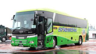富士観光バス「ロイヤルエクスプレス」東京便 6186 海老名SAにて
