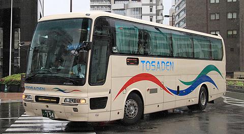 土佐電気鉄道「はりまや号」三菱エアロクイーンⅠ