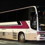 阪急観光バスの夜行バス「ムーンライト号」乗車記