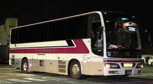 阪急観光バス「ムーンライト号」・849 壇ノ浦PAにて(H24.01.18)