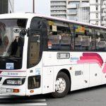福岡天神で見かけた高速バス達(2012年1月分)