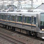 サントリー山崎蒸留所前でJR車両(寝台特急「日本海」他)を撮ってみました。