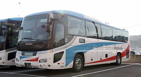 長崎自動車「オランダ号」いすゞガーラHD