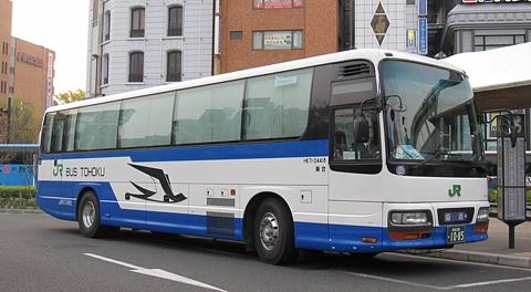 仙台駅東口で見かけた夜行バス達(仙台駅東口編)
