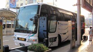 名鉄バス「名古屋松山線 」 2607 松山市駅にて