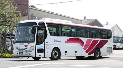 西日本鉄道「ひのくに号」ヒュンダイ・ユニバース