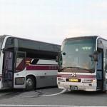 阪急バスの高速バス「よさこい号」夜行便乗車記