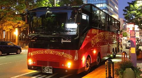 「福岡オープントップバス」博多きらめき夜景コース乗車記【後編】