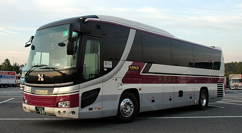 阪急観光バス&南国交通の夜行高速バス「さつま号」