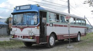 三菱鉱山バス 三菱MR