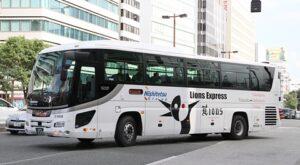 西鉄高速バス「ライオンズエクスプレス」予備車両 2353