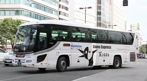 西鉄高速バス「ライオンズエクスプレス」予備車両8529号車 日野セレガHD