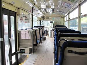 札幌ばんけい 円山線 2768 車内