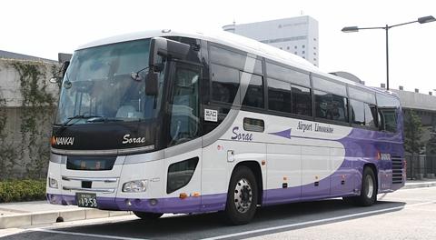 南海バス「関西空港リムジンバス Sorae」関空~岡山線