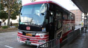 京阪バス「直Q京都号」なんば系統 2536 京都駅八条口到着