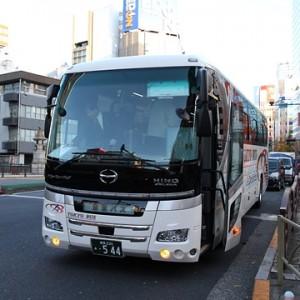 東京バス 日野セレガハイブリッド ・544 秋葉原にて アイキャッチ