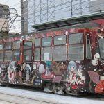 札幌市電「雪ミク電車2013Ver.」を見てみる