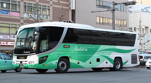 近鉄バス 宮崎特急線「おひさま号」 日野セレガHD