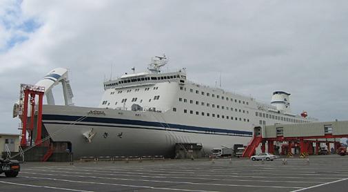 太平洋フェリーの豪華フェリー「きそ」(2005年)乗船記