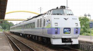 JR北海道 臨時特急「ヌプリ」函館行き ニセコ駅にて アイキャッチ2