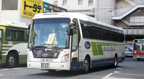 中国バス「広福ライナー」現代ユニバース乗車記