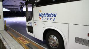 西鉄高速バス「桜島号」夜行便 ・796 西鉄天神BCにて