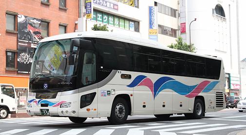 大分交通「とよのくに号」乗車記(『「SUNQパス」で乗り尽くす九州旅』その1)