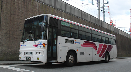 西日本鉄道「とよのくに号」スーパーノンストップ便乗車記