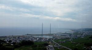 名鉄バス「さぬきエクスプレス名古屋号」から眺める淡路島