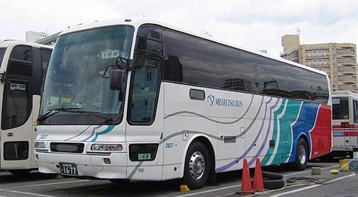 名鉄バス「どんたく号」乗車記(2007年12月乗車分)