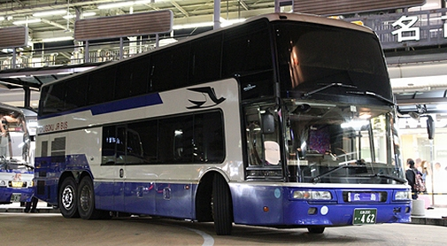 中国JRバス「広島ドリーム名古屋号」三菱エアロキング