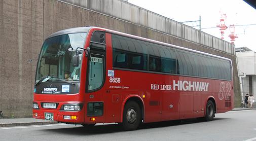 JR九州バス「桜島号」 西工02MC SD-Ⅰ