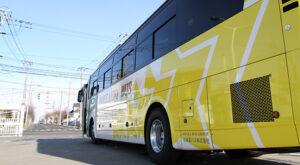 北海道バス「釧路特急ニュースター号」・993 左サイド