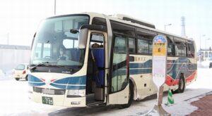 沿岸バス 留萌旭川線 ・709 旭川駅前停車中
