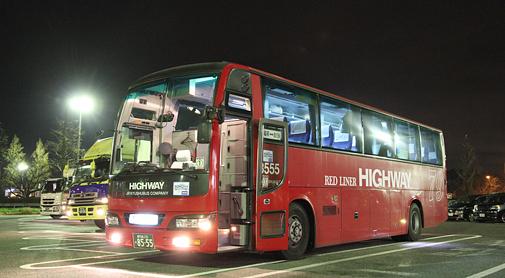 JR九州バス「桜島号」8555