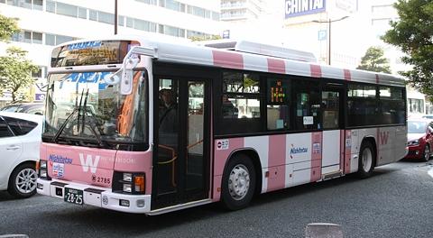 西日本鉄道「渡辺通幹線バス」を見てみる