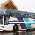 都市間バス「特急えさし号」を見てみる