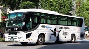 西鉄高速バス「ライオンズエクスプレス」 8529(H26.05.07)