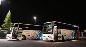 名鉄バス「どんたく号」 土山SAにて その1