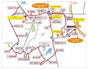西鉄 橋本循環路線図
