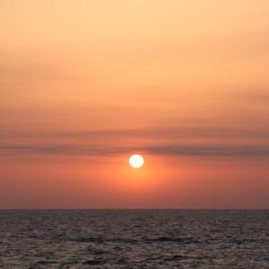 太平洋フェリー「新いしかり」  3日目 日の出