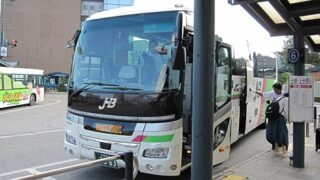 JR北海道バス「ポテトライナー」 3353 帯広駅BT到着