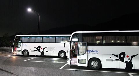 西鉄高速バス「さぬきエクスプレス福岡号」2号車 乗車記(2014年8月乗車分)