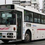 福岡天神で見かけた西鉄高速バスの車両たち