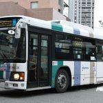 博多バスターミナルで見かけた西鉄の路線バス