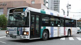 西鉄 壱岐 7813 ブルリ2 ノンステップ