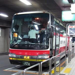 北海道中央バス「イーグルライナー」1532 札幌駅前T到着(H22.08.17)